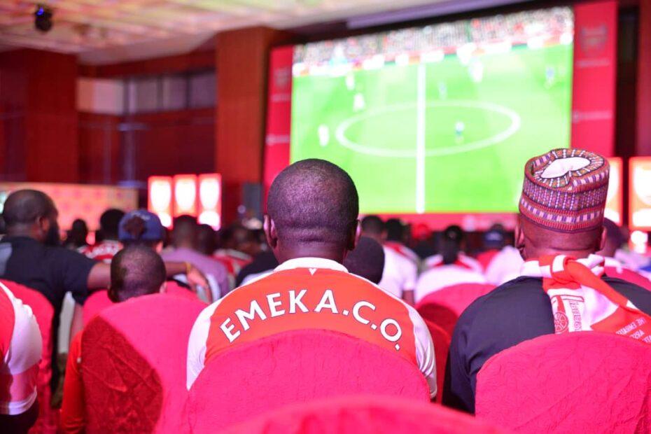 Match Day in Nigeria